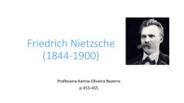 Friedrich Nietzsche (1844