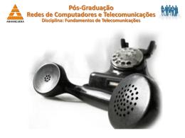 Pós-Graduação Redes de Computadores e Telecomunicações