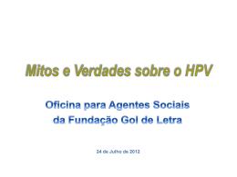 apresentaç - Instituto do HPV