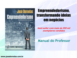 Manual do professor