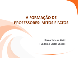 Profa. Dra. Bernardete Gatti