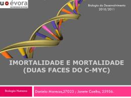 C-MYC - Biologia do Desenvolvimento