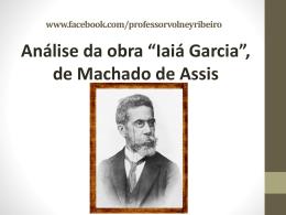 Iaiá Garcia_M. de Assis