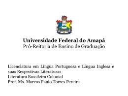 LitBrasCol.pp02 - Universidade Federal do Amapá