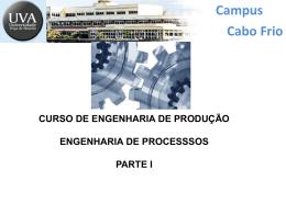 Engenharia de Processos - Parte I.