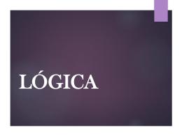 LÓGICA - Colegio Ideal