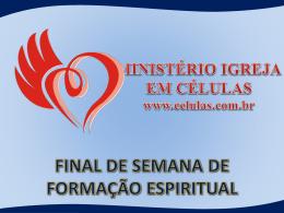 Apostila de Formação Espiritual
