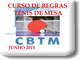 curso de regras cbtm 2015
