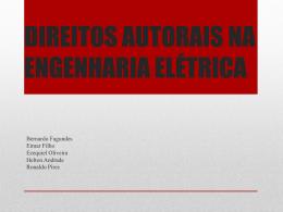 direitos autorais na engenharia elétrica
