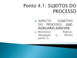 PPoint 4.1 – Juiz e Auxiliares