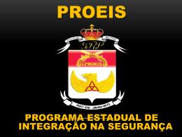 proeis - Governo do Estado do Rio de Janeiro