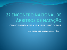 Apresentação - Marcelo Falcão - WebEsportes.com.br