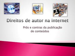Direitos de autor na internet