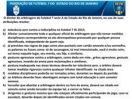 medidas disciplinares no fut 7 rj 2015 segundo turno.