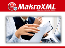 Slide 1 - MakroXML