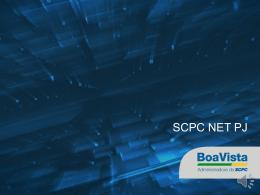 SCPC Net PJ - Boa Vista Serviços