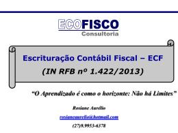MATERIAL CURSO SPED ECF
