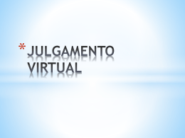 Julgamento virtual no TJSP