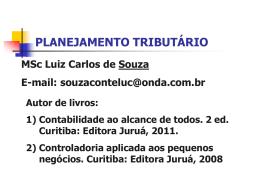 PLANEJAMENTO TRIBUTÁRIO EMPRESARIAL®