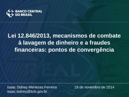 mecanismos de combate a lavagem de dinheiro e a fraudes
