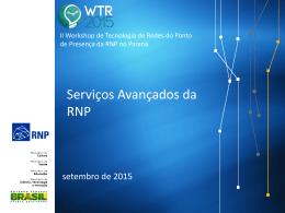Serviços Avançados da RNP