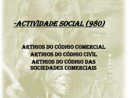 Actividade social (980)