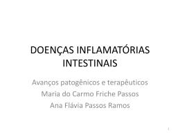 doenças inflamatórias intestinais – avanços