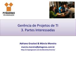 Gerência de Partes Interessadas - Lopes & Gazzani Planejamento