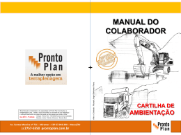 MANUAL DO COLABORADOR