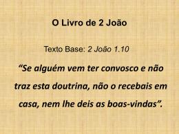 O Livro de 2 João