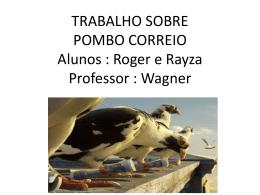 Pombo Correio - eecb