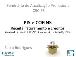 Receita, faturamento e créditos - CRC-ES
