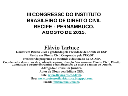 palestra. iii congresso do ibdcivil. recife. agosto de
