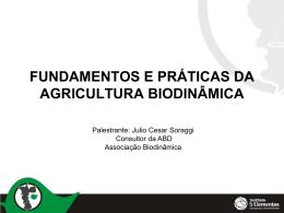 Introdução à Agricultura Orgânica Biodinâmica