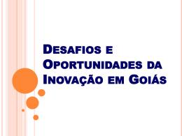 Desafios e Oportunidades da Inovação