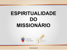 Espiritualidade Missionária (PPT)