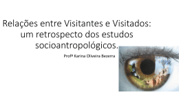 Relações entre Visitantes e Visitados: um retrospecto