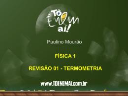 revisão 01 – termometria