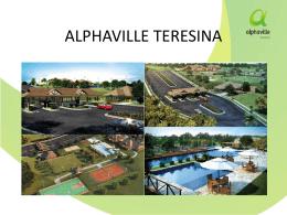 Apresentação do PowerPoint - Associação Alphaville Teresina
