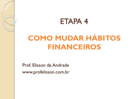 ETAPA 4 - Prof. Elisson de Andrade
