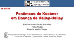 Fenômeno de Koebner em Doença de Hailey