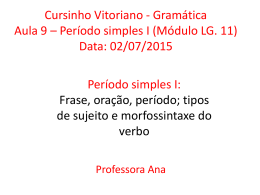 Data: 02/07/2015 - Cursinho Vitoriano