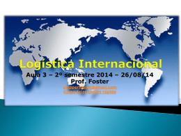AULA 3 Logística Internacional e Prointer