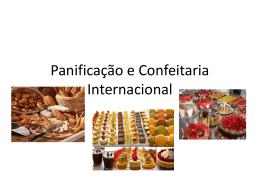 Panificação e Confeitaria Internacional