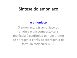 Síntese do amoniaco
