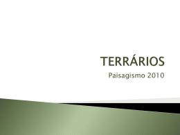 TERRÁRIOS