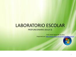 Laboratório - Aula 03 - Arquivo formato