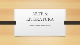 ARTE & LITERATURA