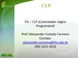 Aulas FIC - CLP - Docente