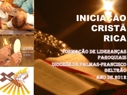 INICIAÇÃO CRISTÃ RICA